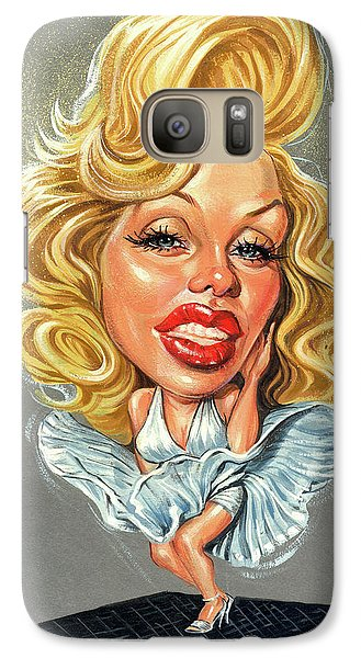 Marilyn Monroe Galaxy S7 Case by Art
