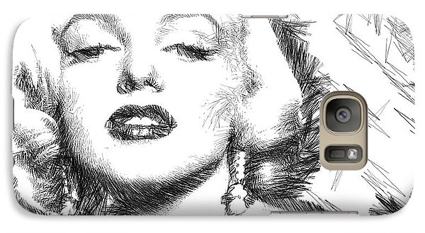Marilyn Monroe - The One And Only  Galaxy S7 Case