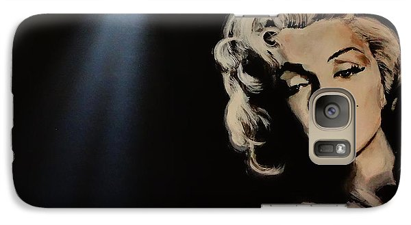 Galaxy Case featuring the painting Marilyn Monroe - Tmi by Eric Dee