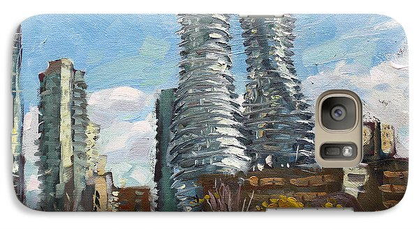 Marilyn Monroe Towers In Mississauga Galaxy Case by Ylli Haruni
