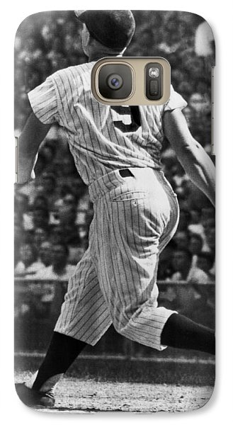 Maris Hits 52nd Home Run Galaxy S7 Case by Underwood Archives
