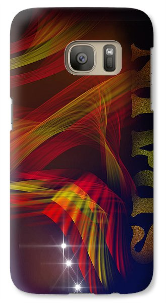 Galaxy Case featuring the digital art Mark Spain by Angel Jesus De la Fuente