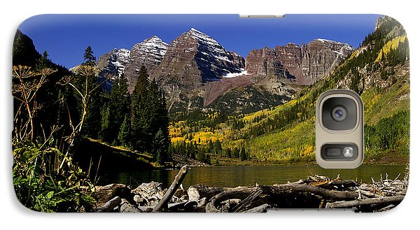 Galaxy Case featuring the photograph Maroon Bells by Jeremy Rhoades