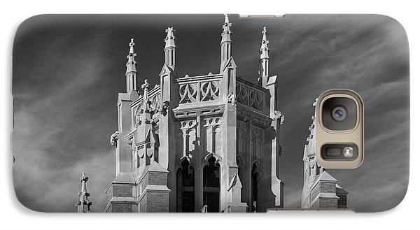 Marquette University Marquette Hall Galaxy Case by University Icons