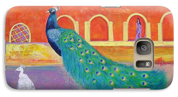 Galaxy Case featuring the painting Marrakesh Dreams  by Donna Dixon
