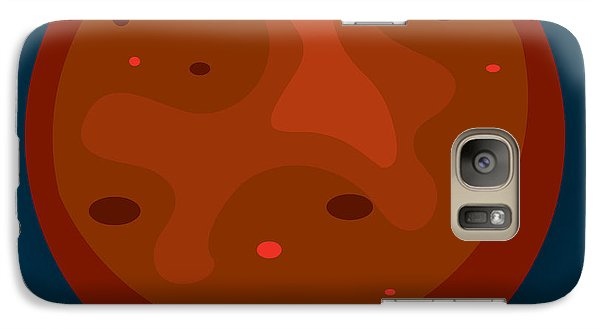 Space Galaxy S7 Case - Mars by Christy Beckwith