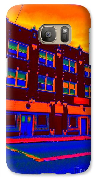 Galaxy Case featuring the photograph Mars Hotel by Jesse Ciazza