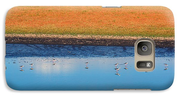 Galaxy Case featuring the photograph Marsh Lands by Cassandra Buckley