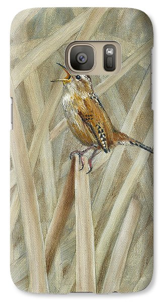 Marsh Melody Galaxy S7 Case by Dreyer Wildlife Print Collections