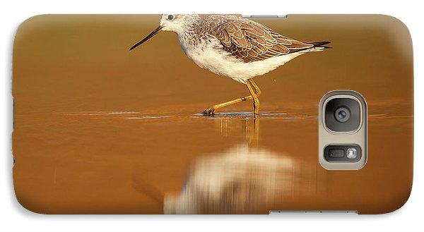 Sandpiper Galaxy S7 Case - Marsh Sandpiper (tringa Stagnatilis) by Photostock-israel