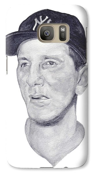 Galaxy Case featuring the painting Martin by Tamir Barkan
