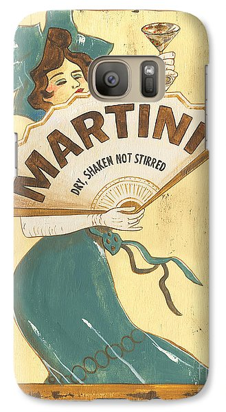 Cocktails Galaxy S7 Case - Martini Dry by Debbie DeWitt