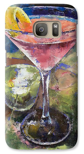 Martini Galaxy S7 Case by Michael Creese