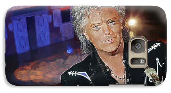 Galaxy Case featuring the photograph Marty Stuart At The Ryman by Don Olea