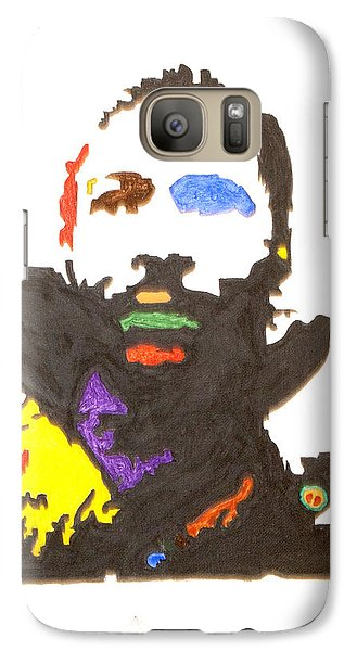 Galaxy Case featuring the painting Marvin Gaye by Stormm Bradshaw