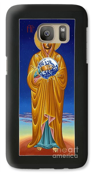 Mary Most Holy Mother Of All Nations 080 Galaxy S7 Case