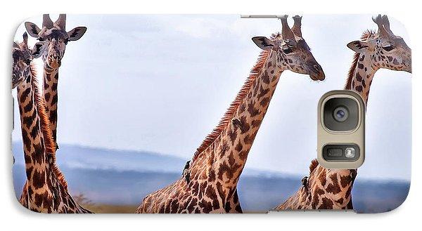 Masai Giraffe Galaxy S7 Case