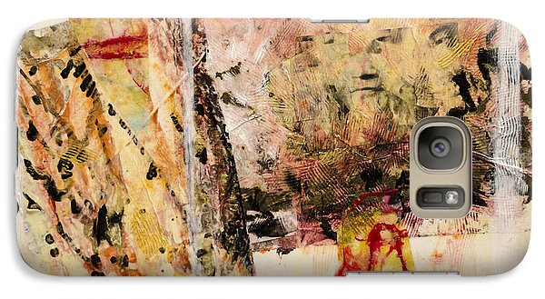Galaxy Case featuring the painting Masanori by Ron Richard Baviello