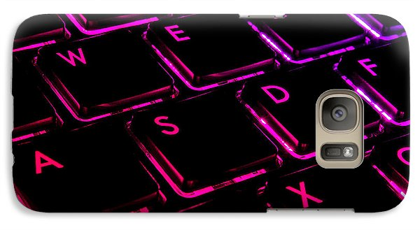 Galaxy Case featuring the photograph Mash Those Wasd by Rhys Arithson