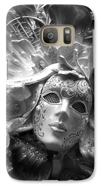 Galaxy Case featuring the photograph Masked Angel by Amanda Eberly-Kudamik