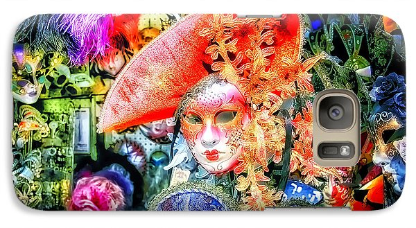 Galaxy Case featuring the photograph Masks Of Venice 21 by Jack Torcello