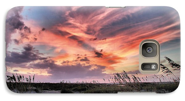 Galaxy Case featuring the photograph Masonboro Inlet September Sunset by Phil Mancuso