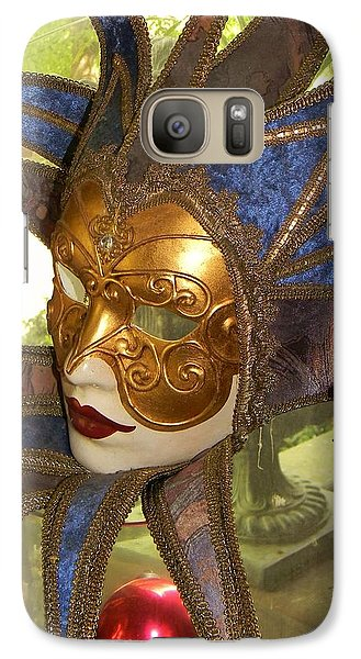 Galaxy Case featuring the photograph Masquerade by Jean Goodwin Brooks