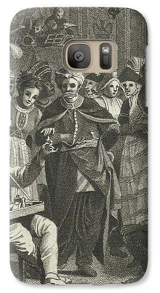 Masquerade, Lambertus Antonius Claessens Galaxy S7 Case by Lambertus Antonius Claessens