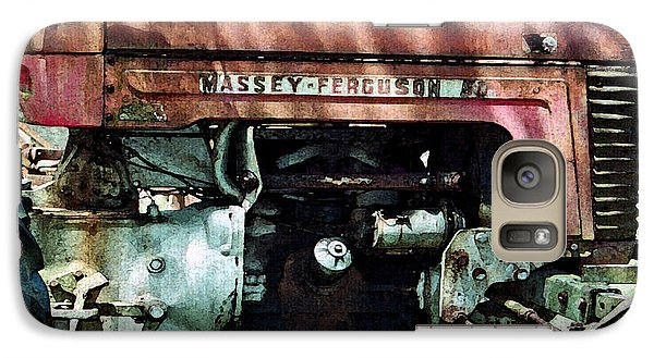 Galaxy Case featuring the photograph Massey-ferguson by Patricia Greer