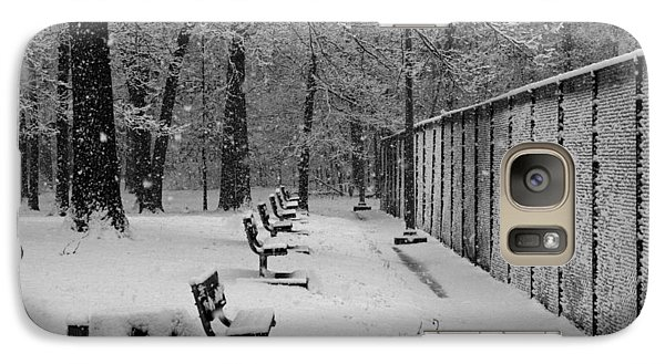 Galaxy Case featuring the photograph Match Called For Snow by Andy Lawless