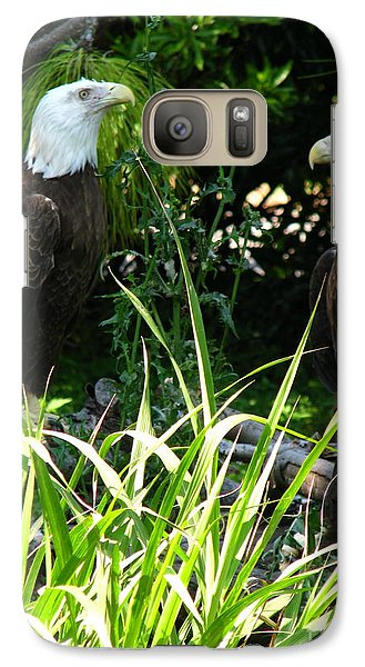 Galaxy Case featuring the photograph Mates by Greg Patzer