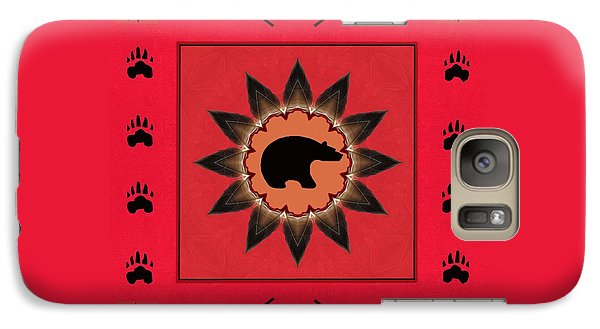 Galaxy Case featuring the photograph Mato Wakan . . Sacred Grizzly  by I'ina Van Lawick