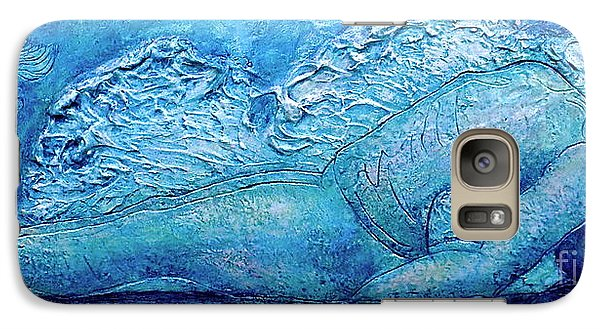 Galaxy Case featuring the painting Matsya by D Renee Wilson