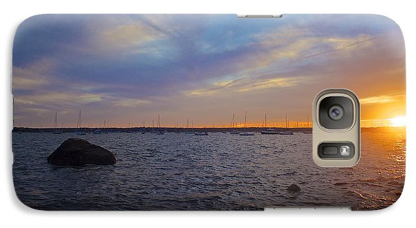 Galaxy Case featuring the photograph Mattapoisett Sunset by Amazing Jules