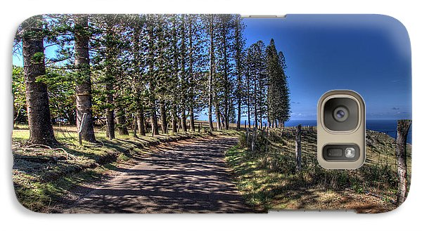 Maui Back Roads Galaxy S7 Case