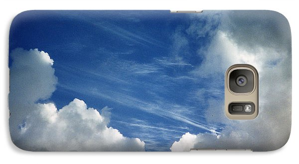 Galaxy Case featuring the photograph Maui Clouds by Evelyn Tambour