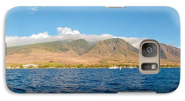 Galaxy Case featuring the photograph Maui's Southern Mountains   by Lars Lentz