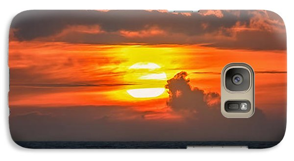Galaxy Case featuring the photograph Maui's Sun by Hawaii  Fine Art Photography