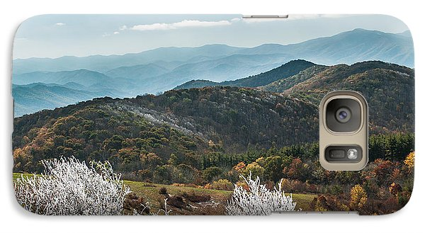 Galaxy Case featuring the photograph Max Patch In Appalachian Mountains by Debbie Green