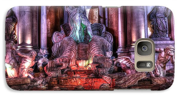 Galaxy Case featuring the sculpture Trevi Fountain by Kevin Ashley