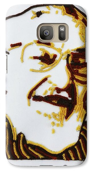 Galaxy Case featuring the painting Max's Portrait by PainterArtist FINs husband Maestro