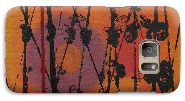 Galaxy Case featuring the painting Maya 1 by Mini Arora