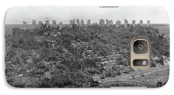 Mayan Ruins Galaxy S7 Case by American Philosophical Society