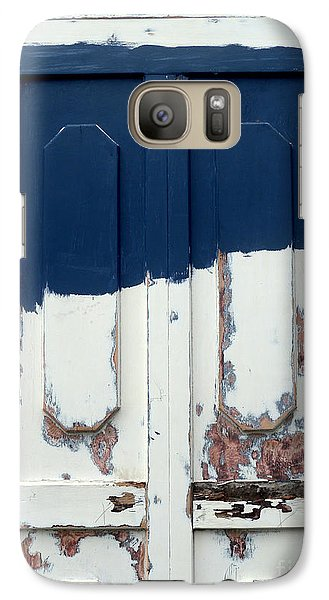 Galaxy Case featuring the photograph Maybe Blue by Robert Riordan