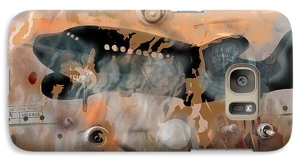 Galaxy Case featuring the digital art Mayday by Bob Salo