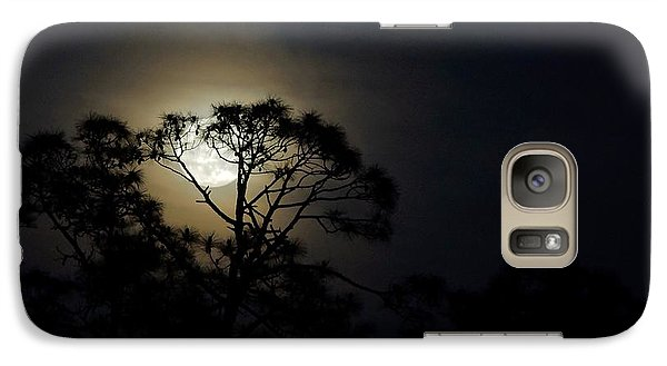 Galaxy Case featuring the photograph May's Flower Moon by Lynda Dawson-Youngclaus