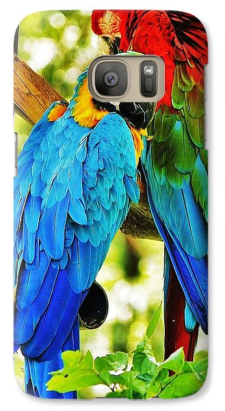 Galaxy Case featuring the photograph Mccaws by Al Fritz