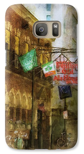 Galaxy Case featuring the photograph Mcgillins Olde Ale House by John Rivera