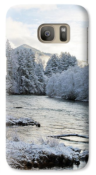 Galaxy Case featuring the photograph Mckenzie River by Belinda Greb