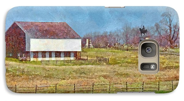 Mcpherson's Barn At Gettysburg National Military Park Galaxy S7 Case
